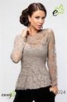 Очаровательная блуза из кружев - фото 2753