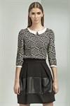 Черная юбка-тюльпан - фото 3376